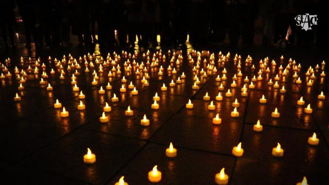Antwerpen eert slachtoffers aanslagen Brussel