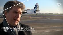 VLM Airlines vliegt vanuit Antwerpen op München en Maribor Astad TV Yves Panneels Woordvoerder VLM Airlines