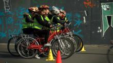 Antwerpen investeert per jaar 375.000 euro in verkeerseducatie www.astad.tv Pro Velo Claude Marinower