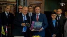 Bart De Wever ontvangt President van Israël in Antwerpen