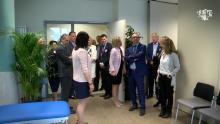 James Ensor officieel ingehuldigd door burgemeester Johan Vande Lanotte