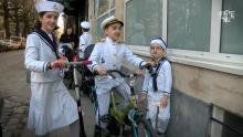 Joodse gemeenschap viert Purim met carnaval (video) Astad TV