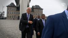 Angolese president bezoekt Antwerpse diamantsector en haven
