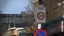 In Antwerpen is 30 de max campage ASTAD TV Koen Kennis verkeerscampage zone 30