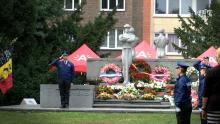 Antwerpen eert gesneuvelde politiemannen Astad